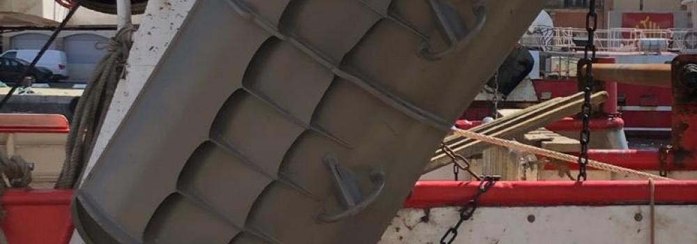 Les portes de chalut Osprey sont populaires en Méditerranée
