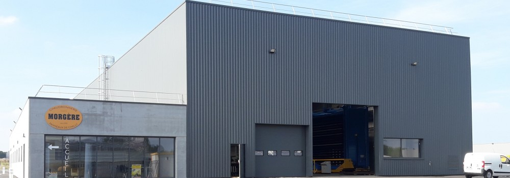 Le nouveau site de production de Morgère désormais opérationnel